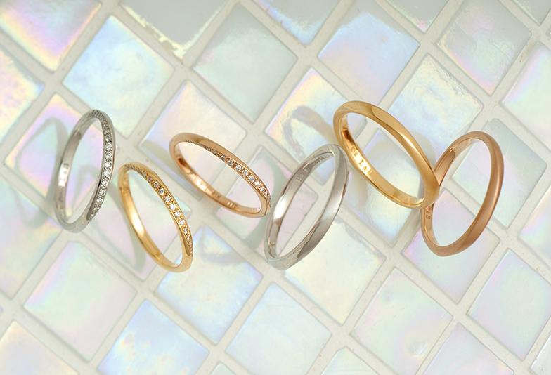 【静岡市】結婚指輪にゴールドはあり?多くのカップルに選ばれるその理由とは