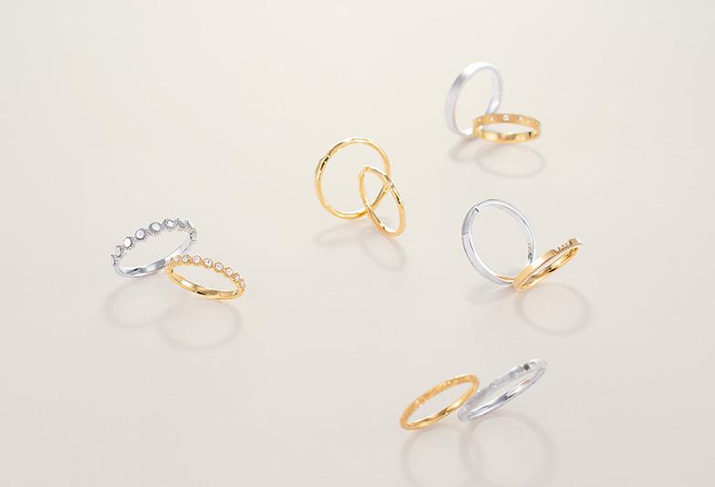 【静岡市】私たちが求めた幅広デザインでも着け心地の良い結婚指輪「towa et toi トワエトワ」アルティザン