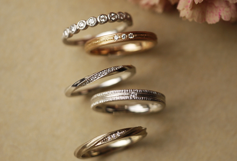【富山市】インスタグラムで大人気の結婚指輪!YUKAHOJOをご紹介!
