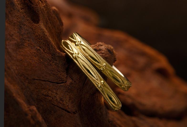 【静岡市】結婚指輪の人気デザイン「ミル打ち」その素敵な意味合いをご紹介