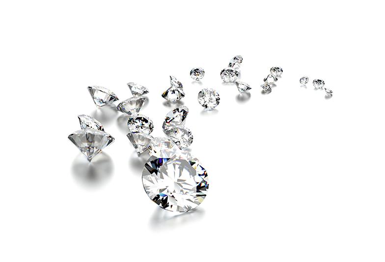 婚約指輪のダイヤモンド