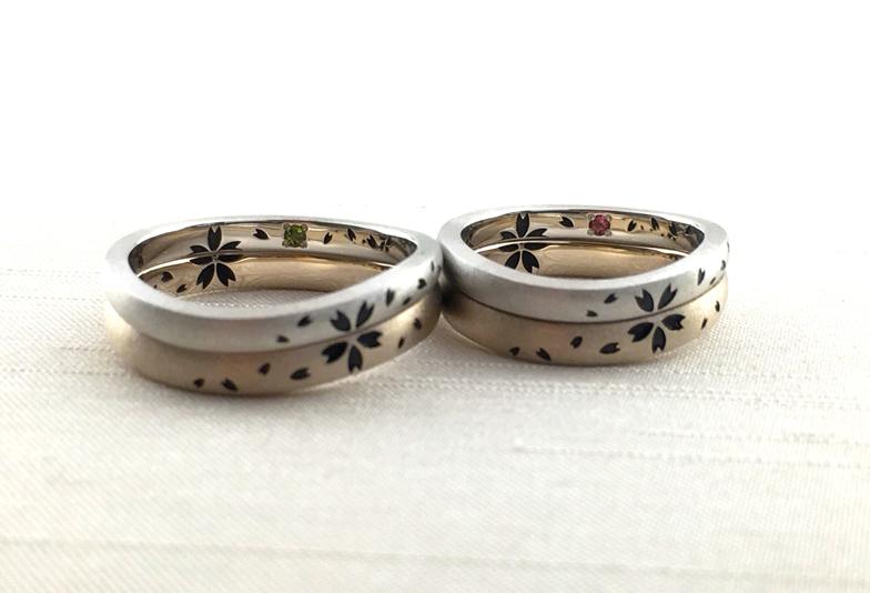 浜松市結婚指輪桜