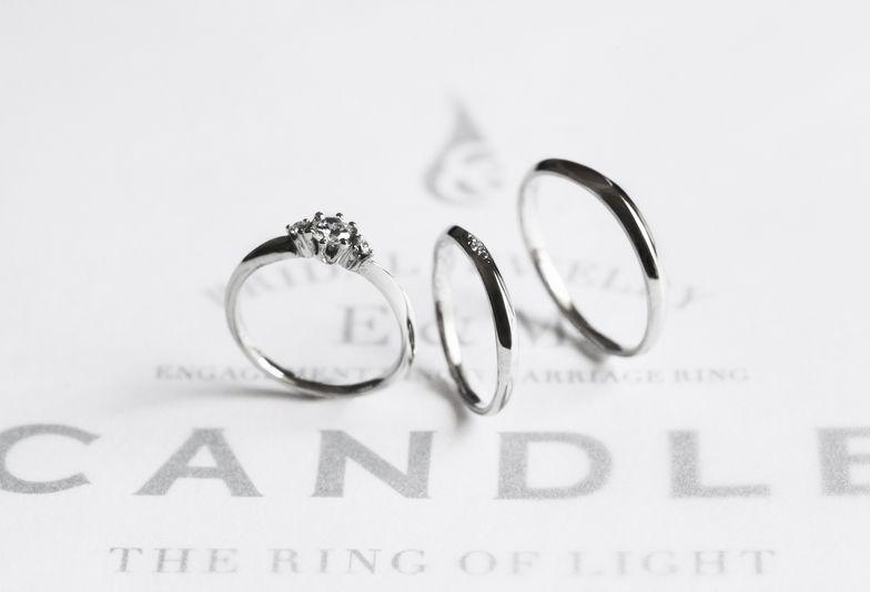 【南大阪・泉州】イマドキ女子から人気の結婚指輪ブランド:CANDLE(キャンドル)の魅力をご紹介!!