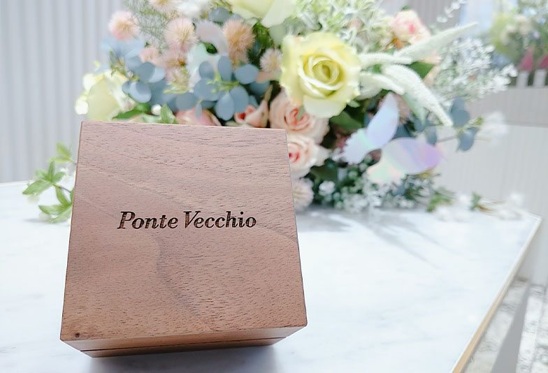 【福井市】口コミで大人気!花嫁がおすすめするブランド「ポンテヴェキオ」