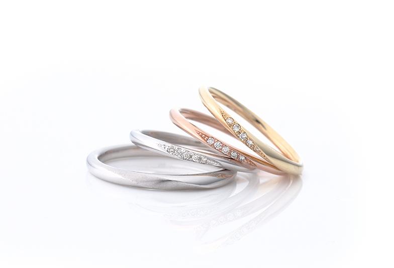 ご予算に合わせて選べる結婚指輪デザイン