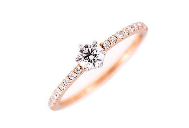 婚約指輪エタニティ