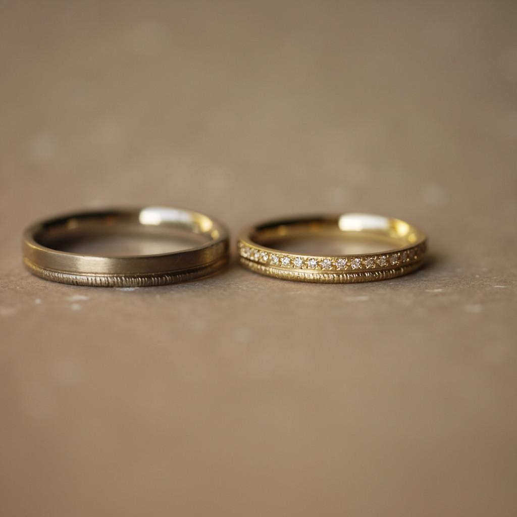 YUKAHOJOの結婚指輪はgarden神戸へ 2