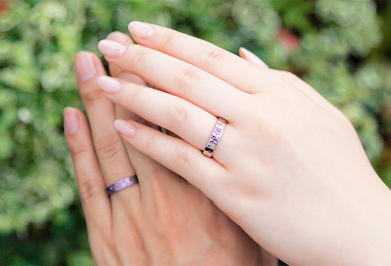 SORA結婚指輪舞桜