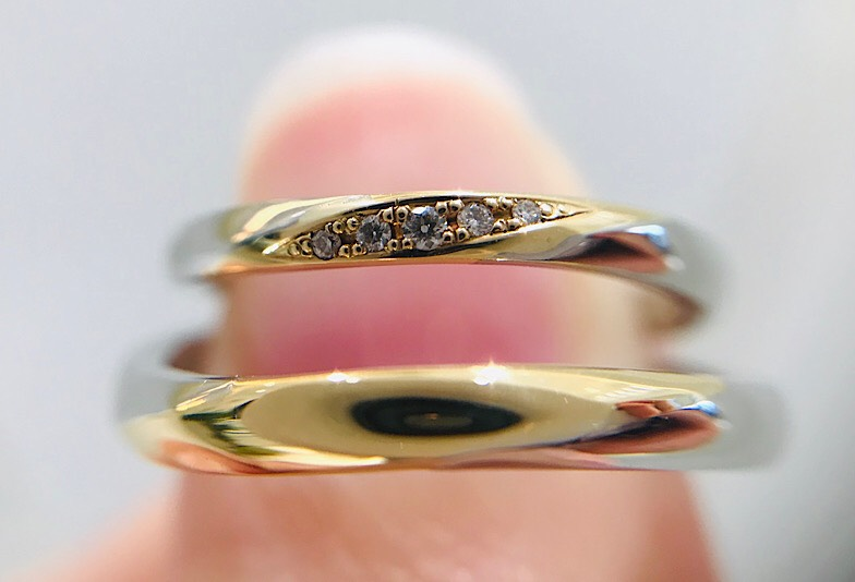 【福井市】結婚指輪選び、アンティークで可愛い「イエローゴールド」のメリットって?