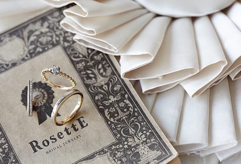 【富山市】SNSで人気の結婚指輪!ロゼットをご紹介!