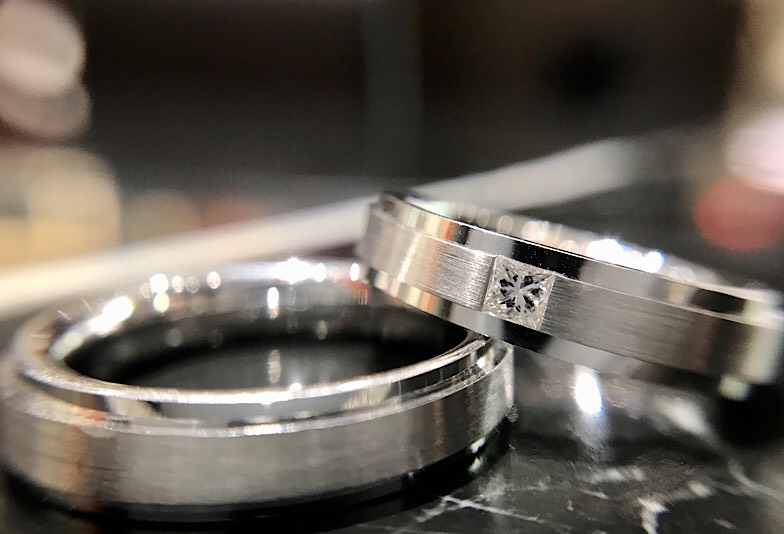 福井市結婚指輪丈夫な鍛造製法