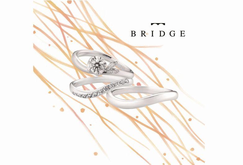 【泉州・岩出市】人気のブランド『BRIDGE』の結婚指輪をご紹介!!