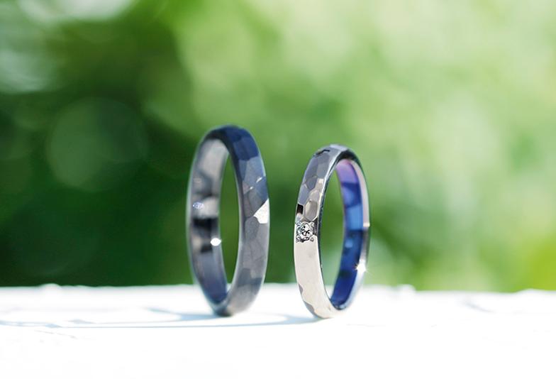 【富山市】おしゃれな結婚指輪SORAの「大地」をモチーフにしたデザイン