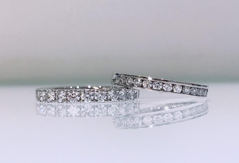 【福井市】エタニティリング、知っておきたい!ダイヤモンドの留め方の種類って?