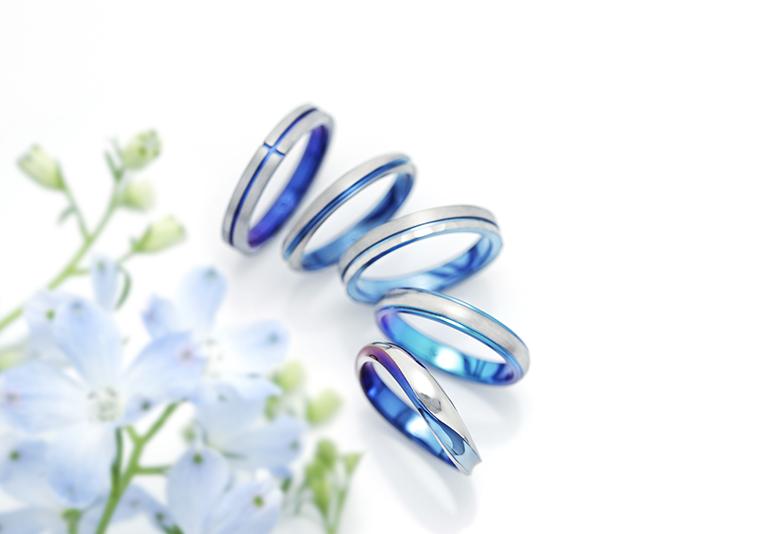 SORAの結婚指輪、青系カラー「ブルーサファイヤVSソレイユ」どっちが人気?