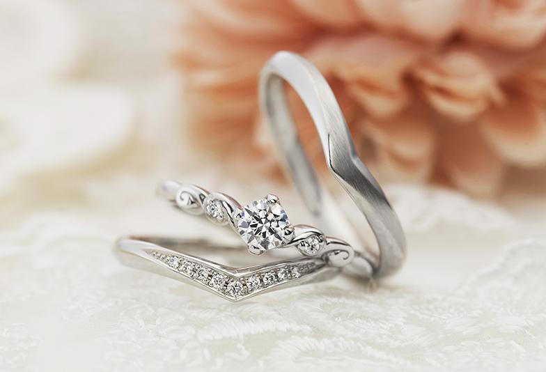 婚約指輪かわいい