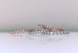 【金沢市】キラキラ好きな花嫁様必見の結婚指輪!エタニティリング、その特徴とは?
