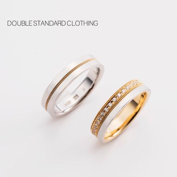 PT/K18結婚指輪