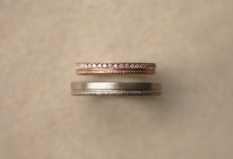 結婚指輪K18