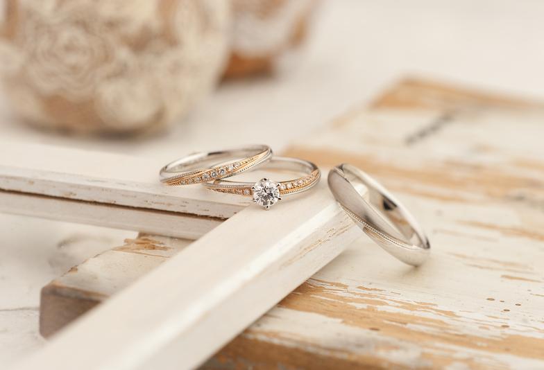 【長野市】アンティーク調な結婚指輪5選!年をとっても着けられるデザイン