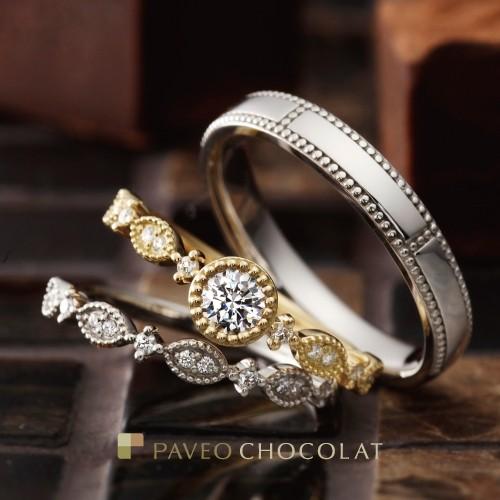 【姫路市】結婚指輪はアンティーク調がオシャレ