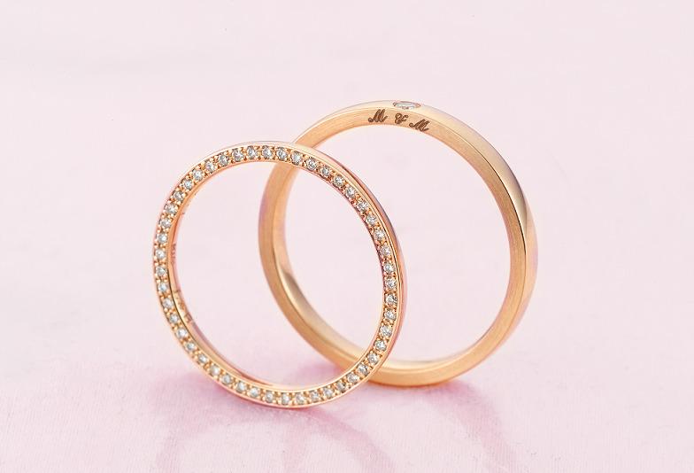結婚指輪ピンクゴールド