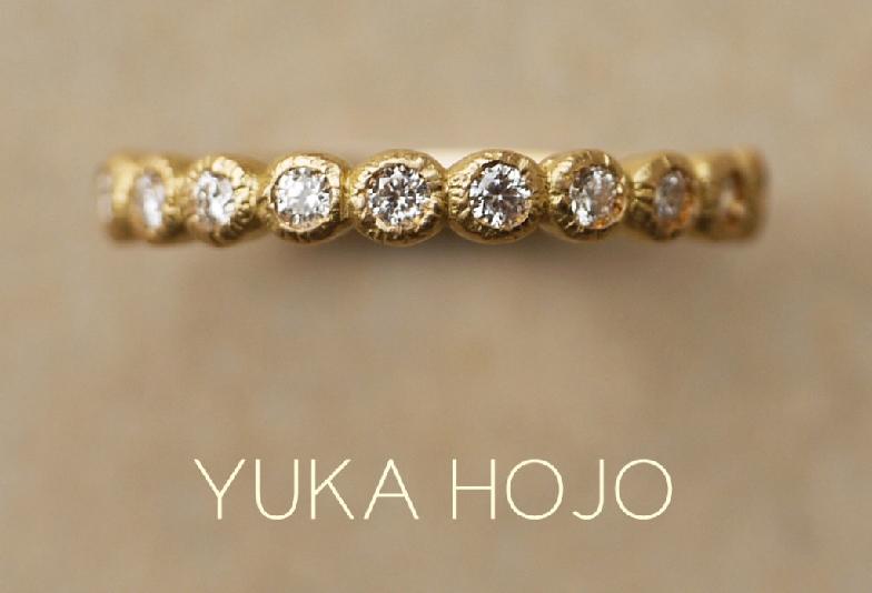 YUKA HOJO/Bloom marriage ring picture