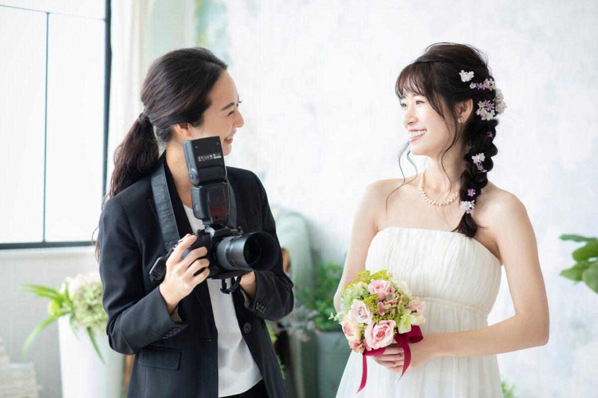 【静岡・浜松・豊橋 前撮り】カメラマン・ヘアメイク持込自由の前撮りスタジオ