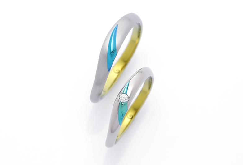 野々市市で人気のSORAの結婚指輪「CALLA」(カラ)
