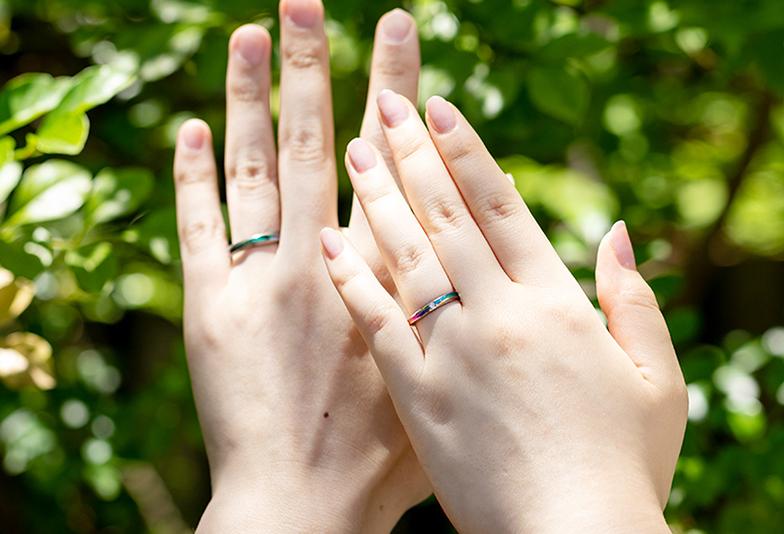 【富山市】富山初上陸!アレルギーフリーなSORAの結婚指輪