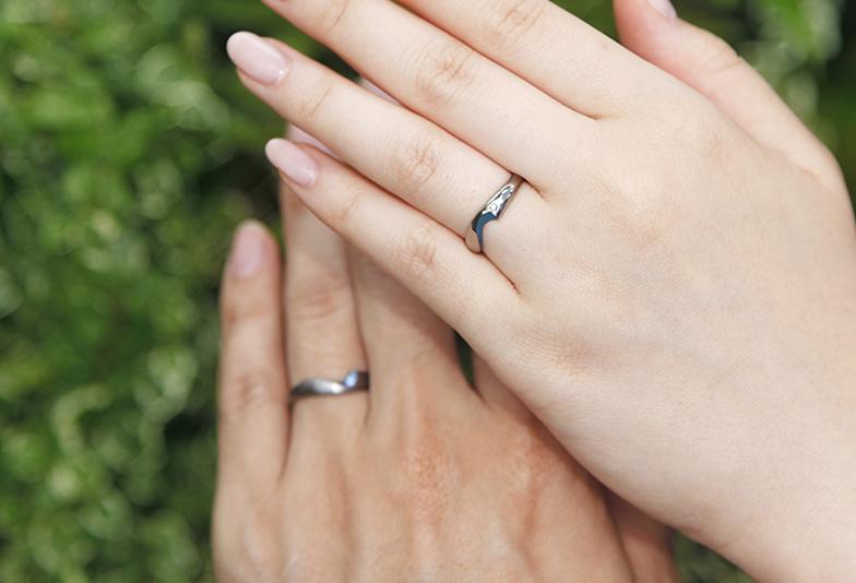 【富山市】幸せのおまじないサムシングブルーを取り入れた「SORA」の結婚指輪とは?