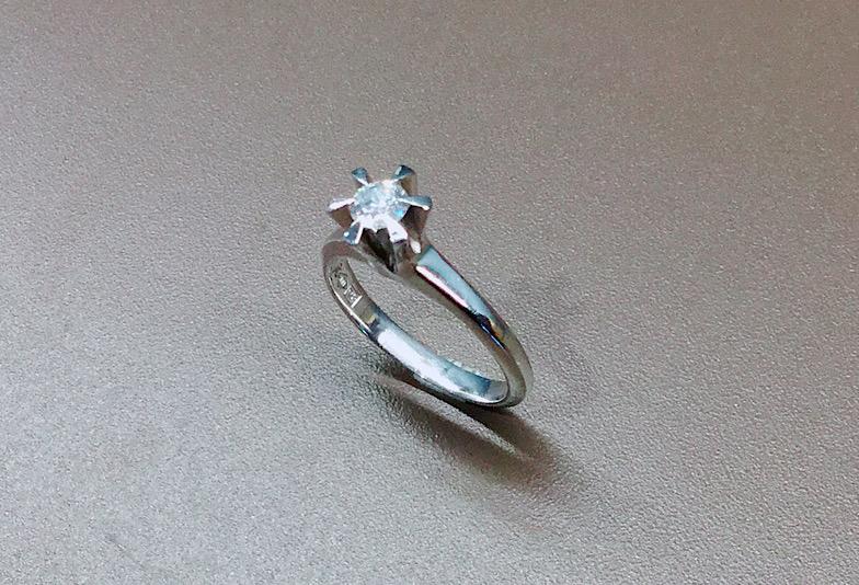 譲り受けた大切な婚約指輪