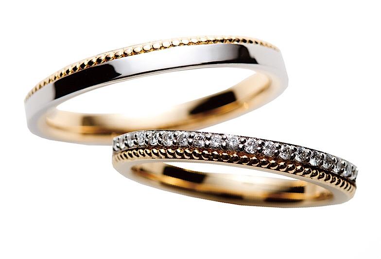 RosettE(ロゼット)人気結婚指輪しずく