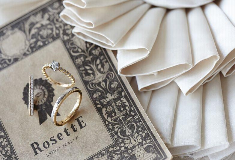 【大阪・梅田】アンティークな結婚指輪、婚約指輪