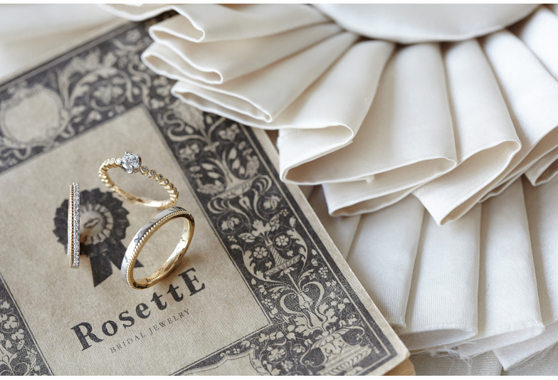【いわき市】可愛いが詰まった結婚指輪!英国調がお洒落な人気ブランド『RosettE-ロゼット』
