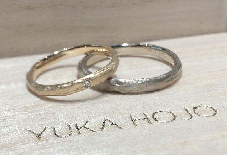 【福井市】YUKA HOJOの結婚指輪、マンゴツリーをご紹介!