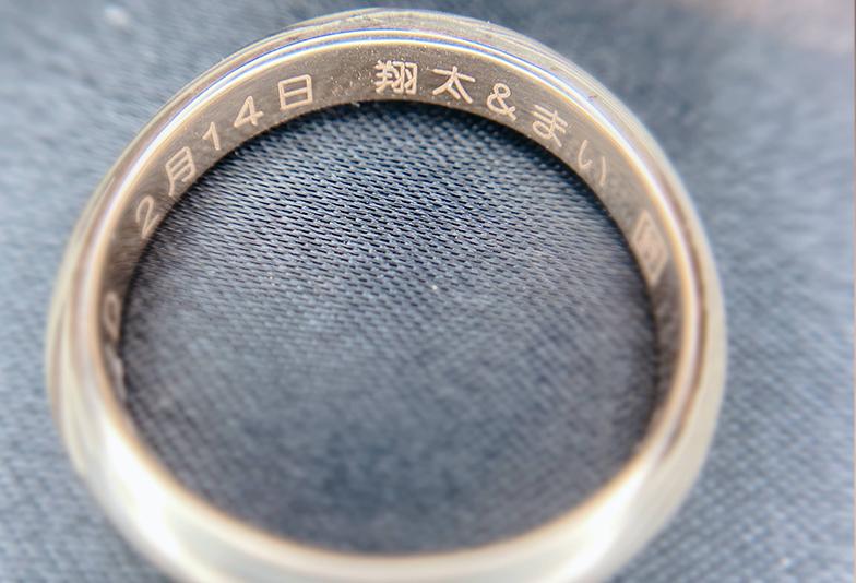 【金沢市】これから結婚指輪を購入する方必見!刻印って何を入れる?≪定番編≫