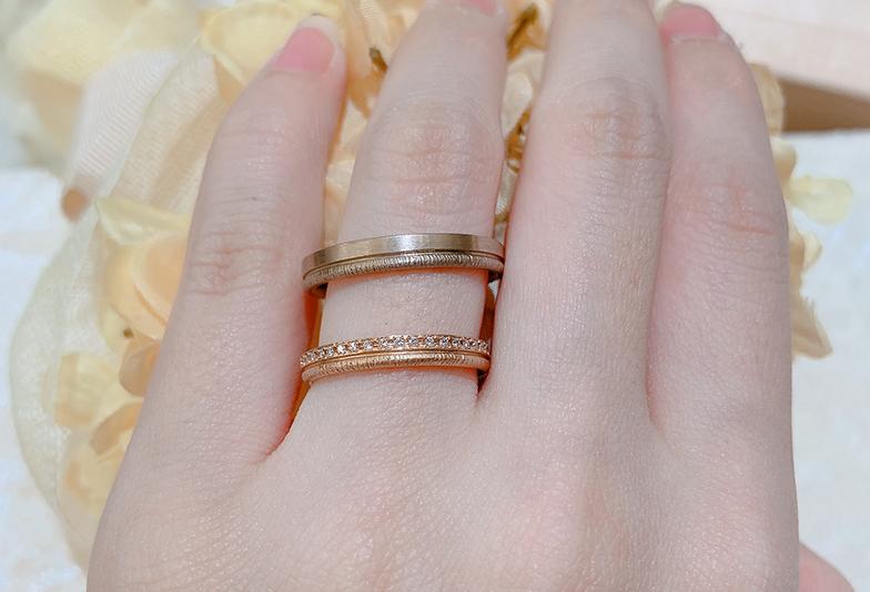 福井市結婚指輪着け心地