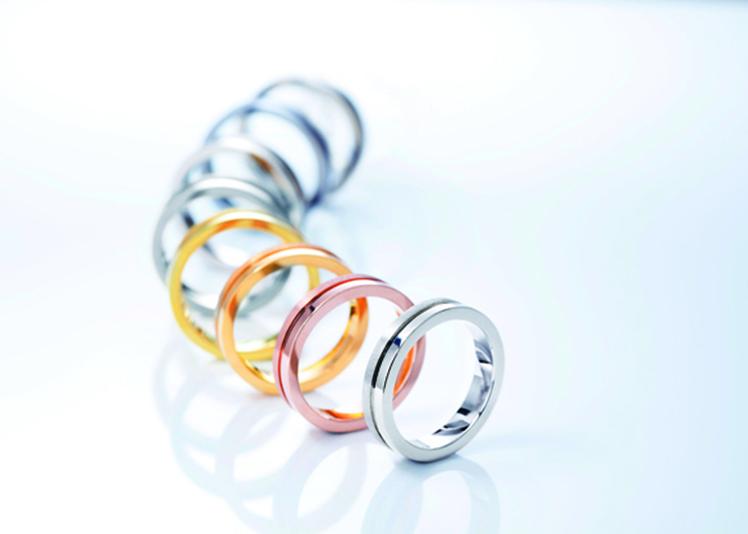 【静岡市】金属アレルギーの私でも大丈夫!ジルコニウム素材の結婚指輪