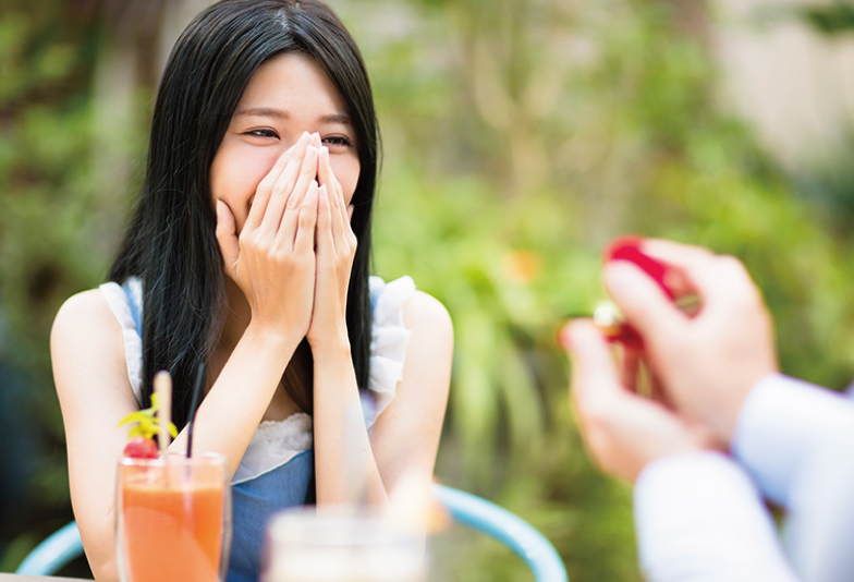 【浜松市】プロポーズにダイヤモンドの婚約指輪を贈る意味や起源は?