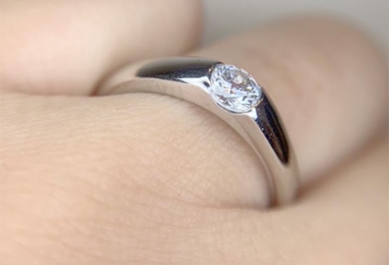 婚約指輪 普段使い