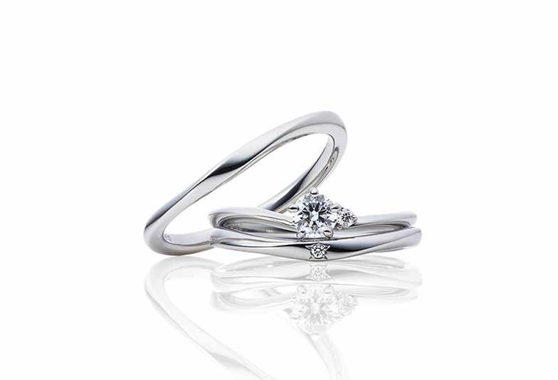 浜松市婚約指輪セットリング