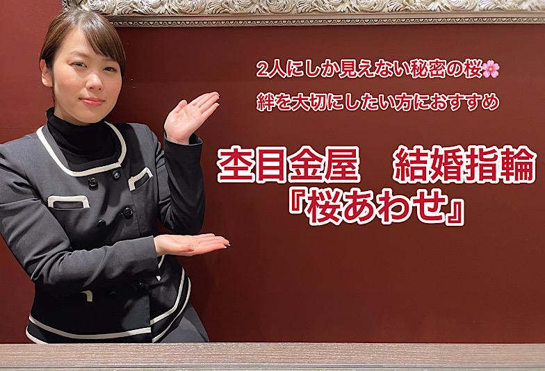 【動画】杢目金屋(もくめがねや)結婚指輪 桜あわせ