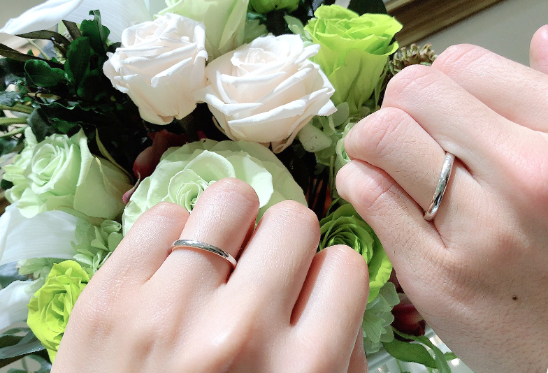 ETERNAL静岡_結婚指輪着用