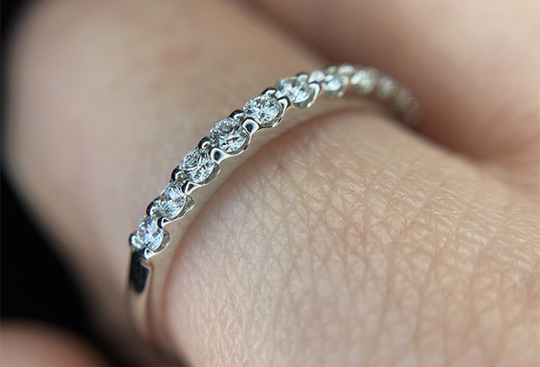 婚約指輪 エタニティリング