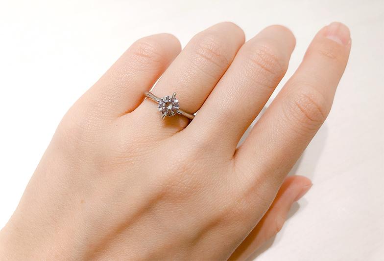 婚約指輪1ctのダイヤモンド