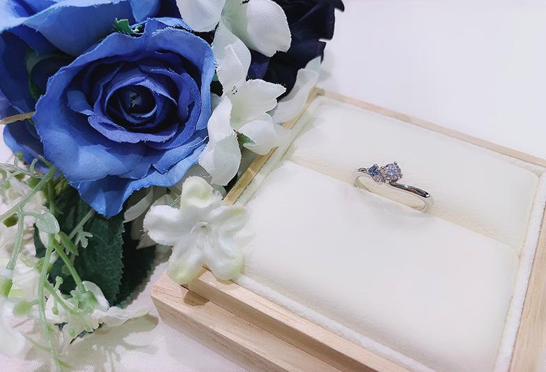 【静岡市】婚約指輪人気ランキング!ブルーが美しいOnlyYou