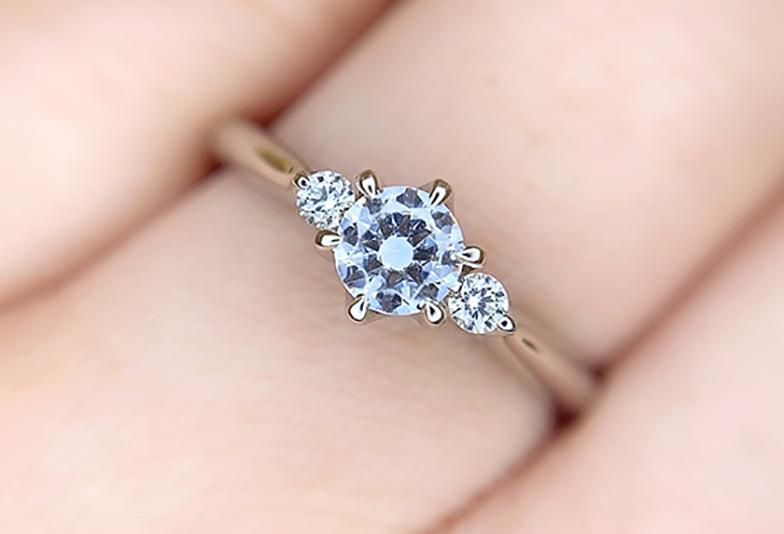キュートな婚約指輪