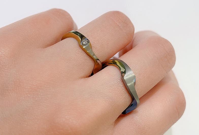 浜松市結婚指輪SORA