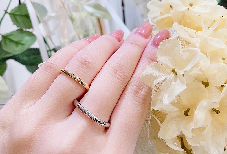 福井市で見れられるYUKA HOJOの結婚指輪